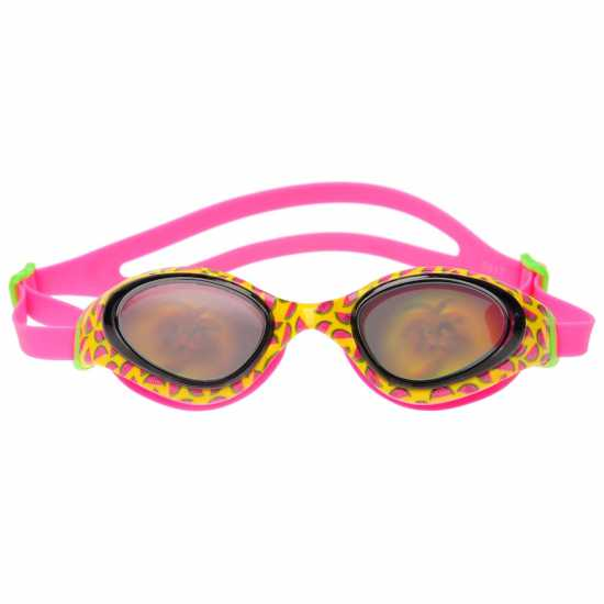 86178cf80c1 Speedo Детски Плувни Очила Holowonder Swimming Goggles Junior Girls  YELLOW/SMOKE Плувни очила и шапки