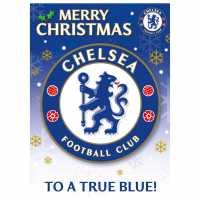 Grange Team Christmas Card Chelsea Коледна украса