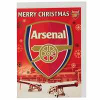 Grange Team Christmas Card Arsenal Коледна украса