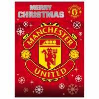 Grange Team Christmas Card Man Utd Коледна украса