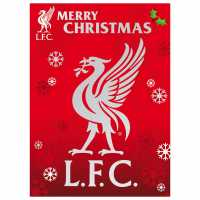 Grange Team Christmas Card Liverpool Коледна украса