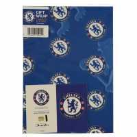 Grange Team Christmas Wrapping Paper Chelsea Коледна украса