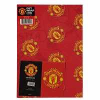 Grange Team Christmas Wrapping Paper Man Utd Коледна украса