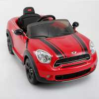 Rastar Mini Cooper Manual 6V Ride On Car Red Подаръци и играчки