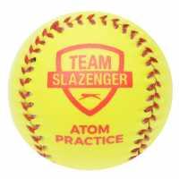 Slazenger Atom Practice Rounders Ball Yellow Подаръци и играчки