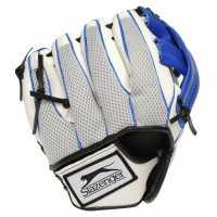 Slazenger Mesh Fielding Mitt Junior White/Blue Бейзбол
