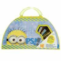 Character Детски Куфар Art Carry Case Unisex Childrens Minions Подаръци и играчки