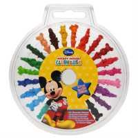 Character Маслени Пастели 20 Pack Wax Crayons Child Mickey Подаръци и играчки