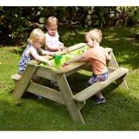 Tp Toys Deluxe Picnic Table Sandpit Wood Подаръци и играчки