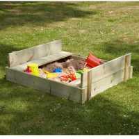 Tp Toys Wooden Lidded Sandpit Multi Подаръци и играчки