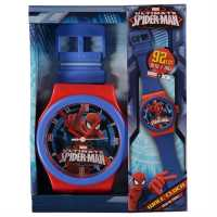 Character Стенен Часовник Wall Clock Spiderman Подаръци и играчки