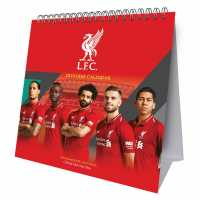 Grange Football Desk Calendar 2019 Liverpool Подаръци и играчки