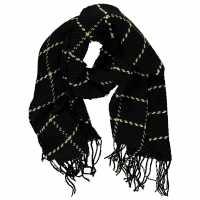Soulcal Oversize Scarf Black/White Ръкавици шапки и шалове