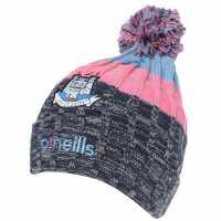 Oneills Dublin Bobble Hat Junior Girls MMarine/SkyB/P Шапки с козирка