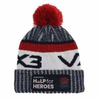Мъжка Шапка Vx-3 Help For Heroes Bobble Hat Mens England Шапки с козирка