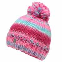 Spyder Twisty Hat Infant Girls Pink/Blue Шапки с козирка