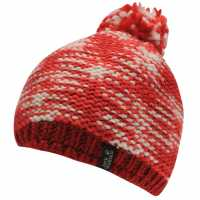 Jack Wolfskin Kaleidoscope Hat Unisex Adults Red Шапки с козирка