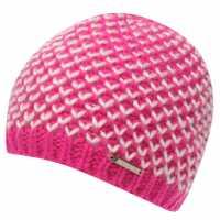 Nevica Kaprun Beanie Ladies Pink/White Шапки с козирка