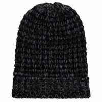 Oneill Cosy Knit Beanie Womens Black Out Шапки с козирка