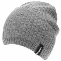 Nevica Мъжка Плетена Шапка Aspen Beanie Hat Mens Grey Шапки с козирка