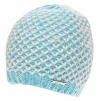Nevica Kaprun Beanie Hat Ladies Aqua/White Шапки с козирка