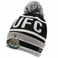 New Era Newcastle United Bobble Hat Black/White Шапки с козирка