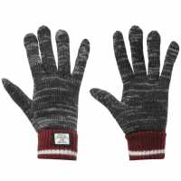 Soulcal Мъжки Ръкавици Svarog Gloves Mens Grey/Burg/Wht Ръкавици шапки и шалове