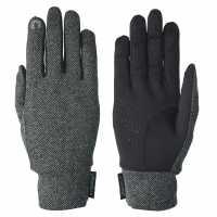 Extremities Herringbone Glv84 Charcoal Ръкавици шапки и шалове