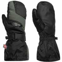Eastern Mountain Sports Altitude 3 In 1 Mitts Ladies Black Ръкавици шапки и шалове