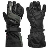 Eastern Mountain Sports Altitude 3 In 1 Gloves Ladies Black Ръкавици шапки и шалове