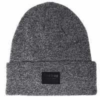 Firetrap Os Cuff Hat Sn94 Charcoal Шапки с козирка