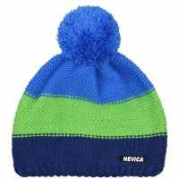 Nevica Banff Beanie Mens Blue/Green Шапки с козирка