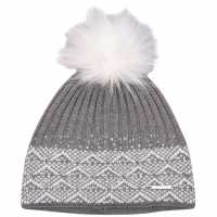 Nevica Diamond Beanie Womens Grey Шапки с козирка