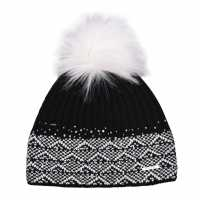 Nevica Diamond Beanie Womens Black Шапки с козирка