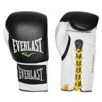 Everlast Мъжки Ръкавици Lock Boxing Gloves Mens Black/White Боксови ръкавици