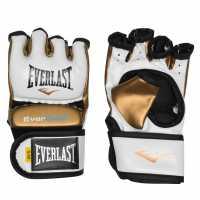 Everlast Мъжки Ръкавици Strike Multi-Purpose Gloves Mens White/Gold Боксови ръкавици