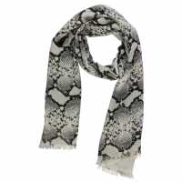 Guess Vision Scarf Natural Python Ръкавици шапки и шалове