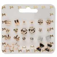 Miso Earring Set Ladies Silver Подаръци и играчки