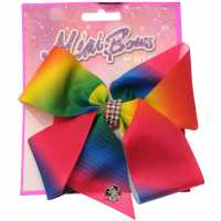 Miso Mimi Hair Bow Junior Girls Rainbow Аксесоари за коса