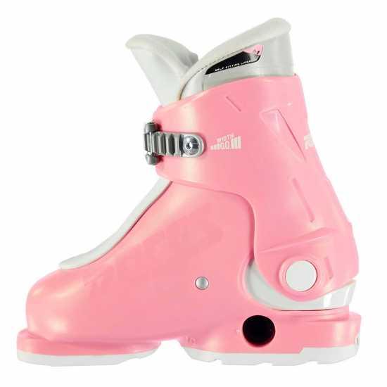 Roces Idea Up Junior Girls Ski Boots Pink Ски обувки