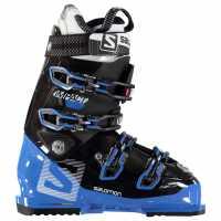 Salomon Impact Ski Boots Mens Black/Blue Ски обувки