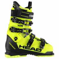 ba555a1ad7b Head Advant Edge 105 Mens Ski Boots Black/Yellow Ски обувки