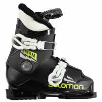 Salomon Team T2 Infant Boys Ski Boots Black Ски обувки