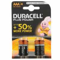 Duracell Plus Power Aaa Batteries 4 Pack  Ски