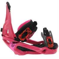 Salomon Rhythm Ladies Snowboard Bindings Pink Ски аксесоари