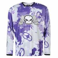 No Fear Forever Motocross Jersey Purple Camo Мотокрос
