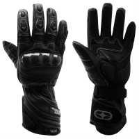 No Fear Мотоциклетни Ръкавици Performance Road Gloves Black Ръкавици шапки и шалове