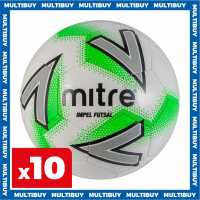 Mitre 10 X Mitre Impel Futsal Size 4  Футболни топки