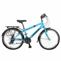Muddyfox Voyager 24 Jnr83 Blue Шосейни и градски велосипеди
