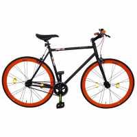 Muddyfox Fixie Race Bike Black Orange Шосейни и градски велосипеди